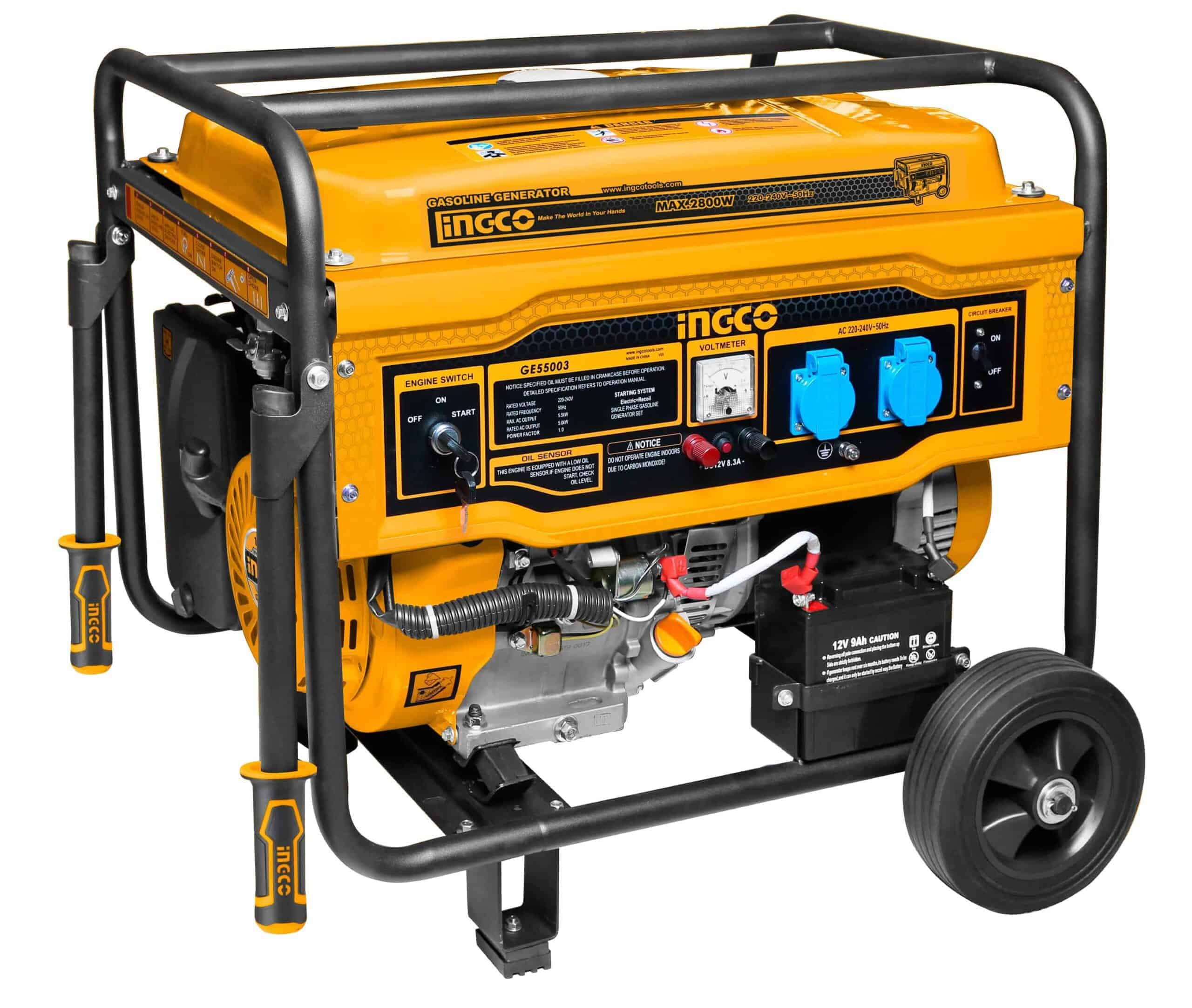 GENERATOR 4ST AIR COOLED 5.5KW