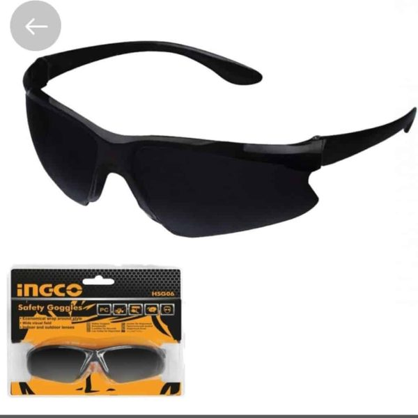 SAFETY SPECTACLES DARK SHADE 8