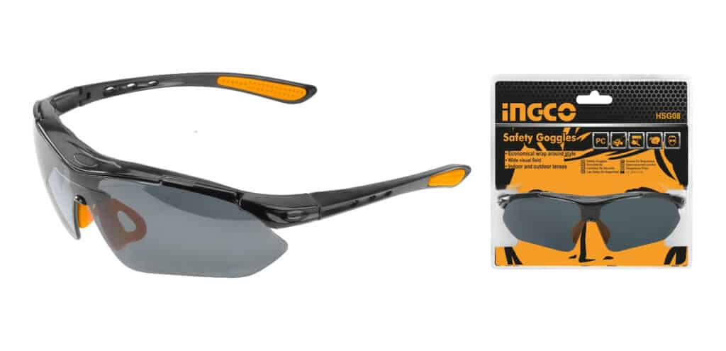 SAFETY SPECTACLES DARK SHADE 9