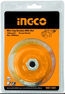 BRUSH WIRE CUP+NT 100 M14X2.0P